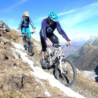Biker Gebirge