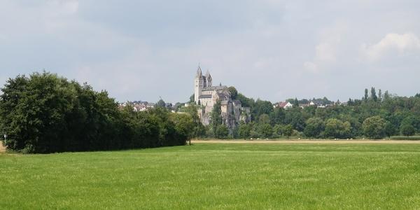 Blick auf St. Lubentius Dietkirchen