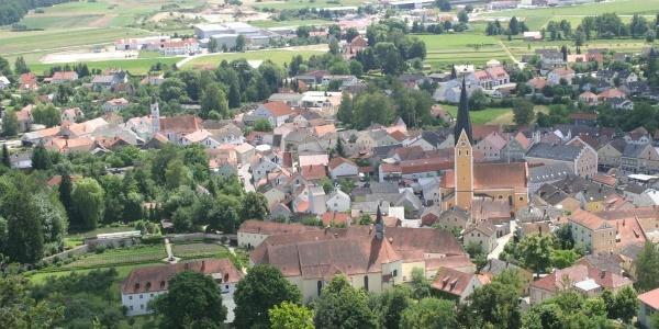 Blick auf Dietfurt