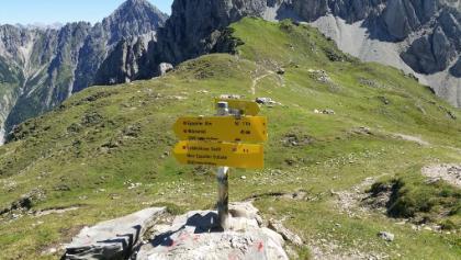 Ursprungsattel Richtung Freiunger Höhenweg