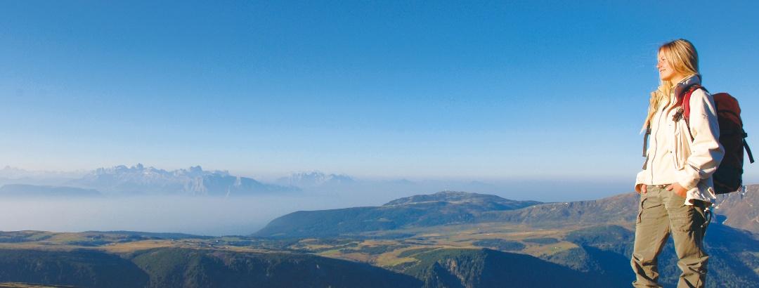 Aussicht auf die Sarntaler Alpen