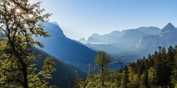 Zugspitze und Sonnenspitze