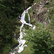 Wasserfall im Bluntautal
