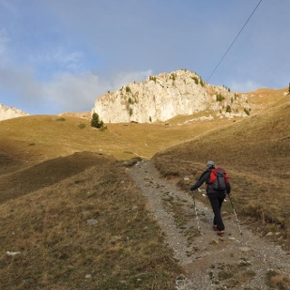 Sasso delle Undici da Val Monzoni