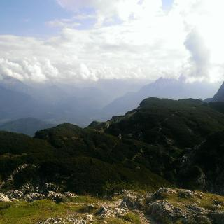 Untersberg Plateau vom Salzburger Hochthron
