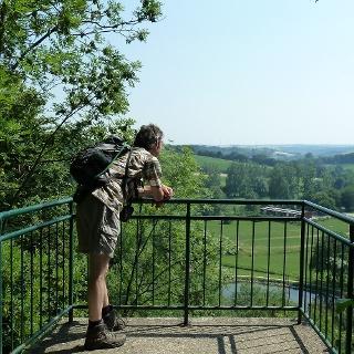 """Aussichtspunkt """"Teufelstein"""" bei Borchen-Etteln"""