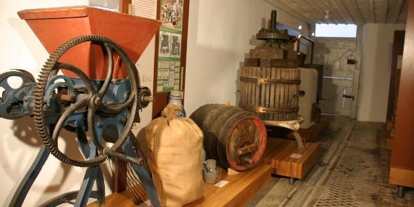 Innenansicht Bodensee-Obstmuseum