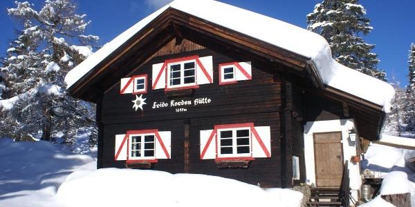 Frido-Kordon-Hütte auf der Sonnalm Stubeck