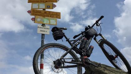 Scalettapass - der (fast) höchste Punkt