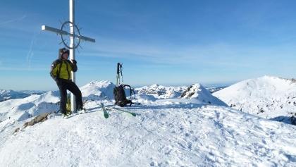 Grünhorn Gipfel im Winter