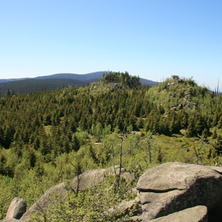 Blick von der Leistenklippe