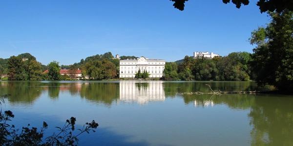 Schloss Leopoldskron mit Hohensalzburg