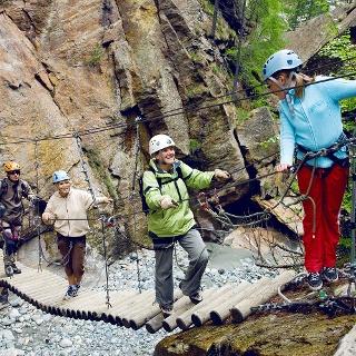 Gorge-Alpine zwischen Saas-Fee und Saas-Grund
