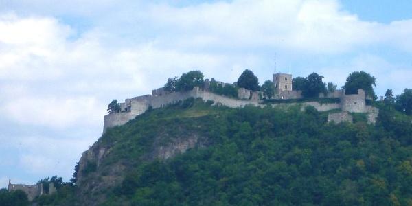Blick zur Festung Hohentwiel