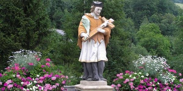 Der heilige Nepomuk in Donnersbach