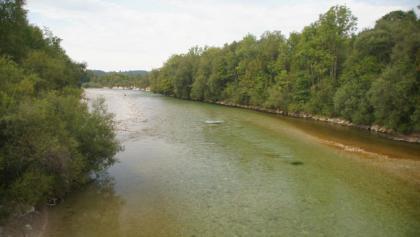 Brücke über die Isar bei Arzbach