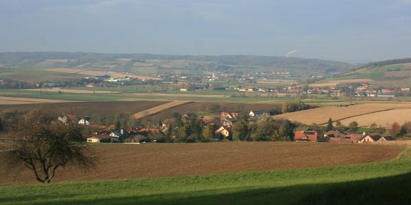 Aussicht auf Asperhofen