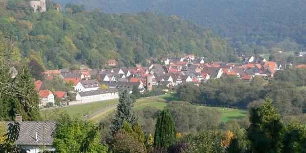 Blick auf Helmarshausen