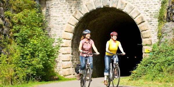 Enz-Radweg_Blick auf einen der zwei Tunnel