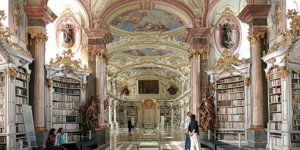 Bibliothek Admont, die größte Stiftsbibliothek der Welt