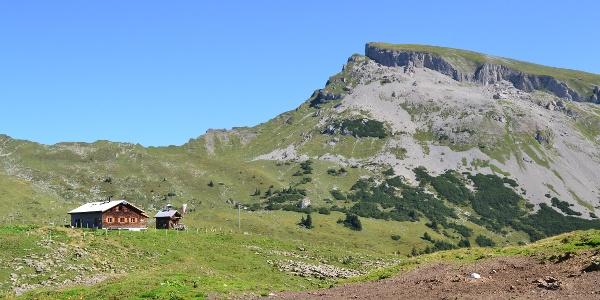 Der Hohe Ifen mit der Alpe Ifersgunt