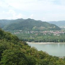 Panorama bei Dürnstein