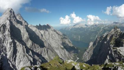 Blick vom Hirschwieskopf auf den Watzmann