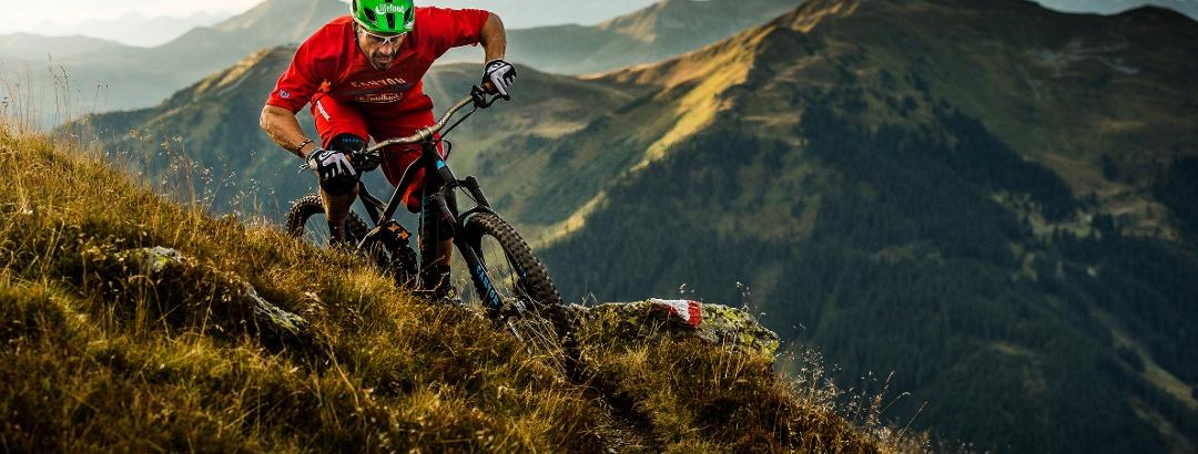 Mountainbike in Saalbach Hinterglemm