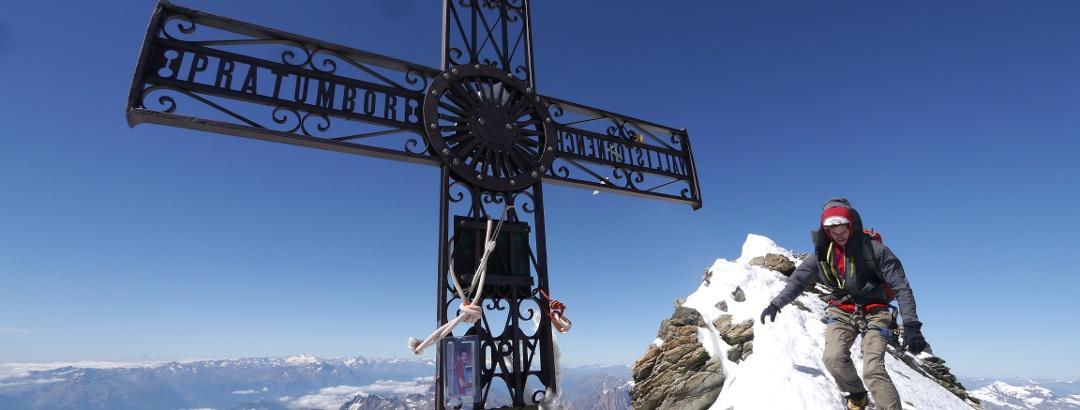 Auf dem Gipfel des Matterhorns