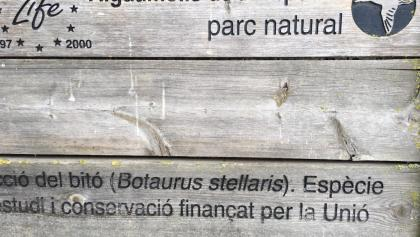 Aiguamolls park natural