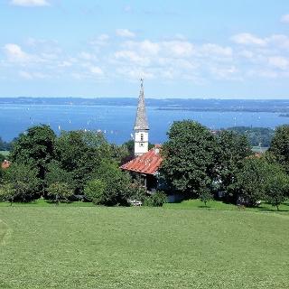 Blick auf Hittenkirchen