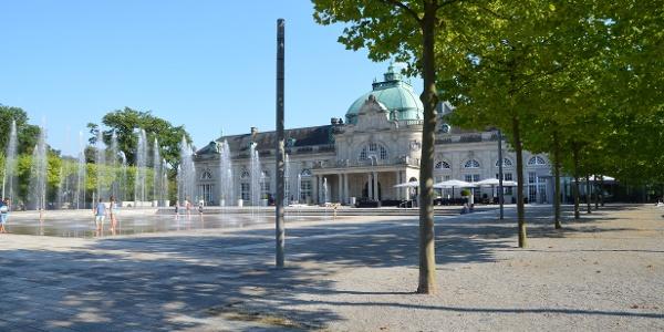 Kurhaus Kaiserpalais Im Kurpark Bad Oeynhausen Historische