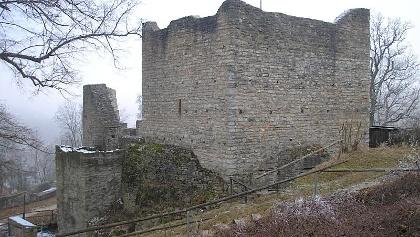 Burgruine Obere Veste Treuchtlingen