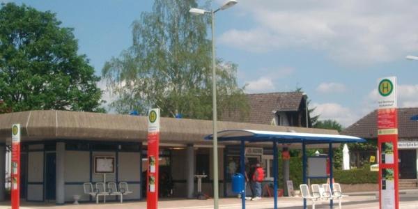 Busbahnhof Bad Meinberg