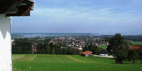 Blick auf Bernau