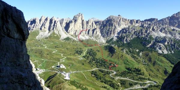 Clarkspitze Zustieg