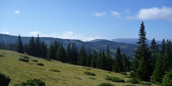 Klippitztörl-Blick zur Saualpe
