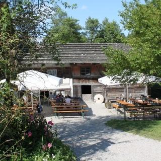 Biergarten an der Katzbrui Mühle