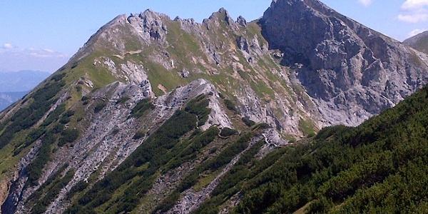 Querung zwischen Riffel und Kreuzkogel (Variante 01A)