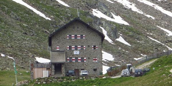 Die Martin Busch Hütte - unser Ausgangspunkt