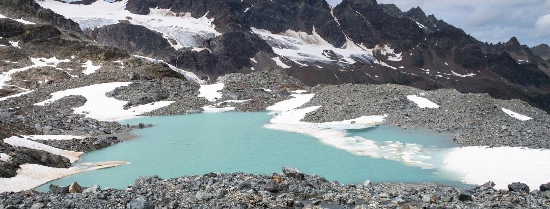 Gletschersee in der Silvretta