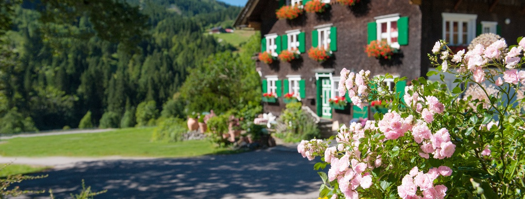 Der Waibelhof im Sommer