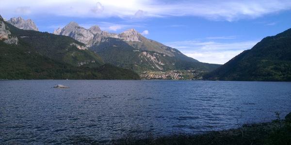 Panorama verso Molveno.