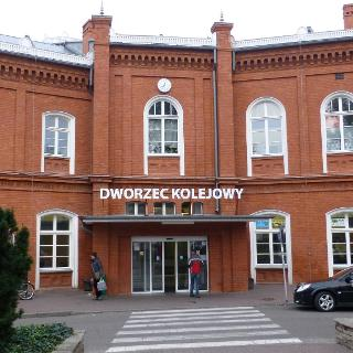 Bahnhof Küstrin (Polen)
