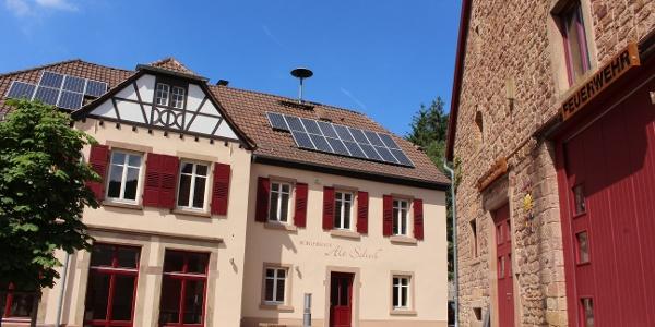 Dorfplatz von Marienthal