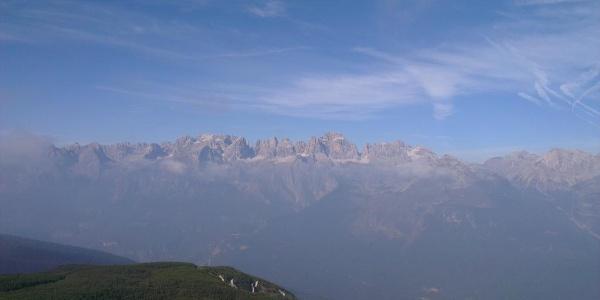 Panorama da Cima Paganella.