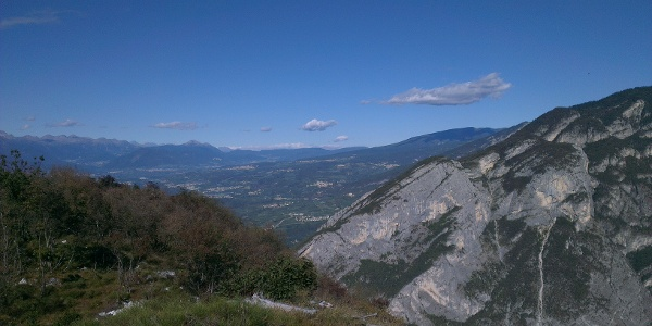Panorama su Val di Non.