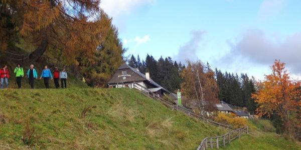 Sonnleitnerhütte, Ausgangspunkt vieler Möglichkeiten (Wandern, Schitouren, Schneeschuh, .......)