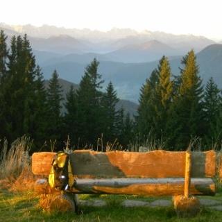 Rechelkopf Gipfelblick ins Karwendel