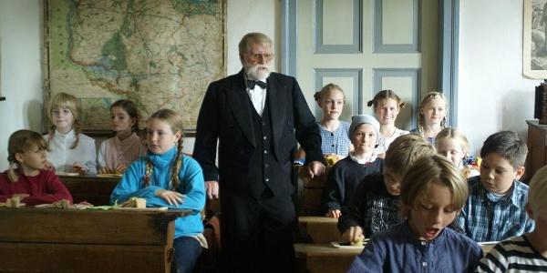 Unterricht im Heimat- und Schulmuseum Himmelfpforten